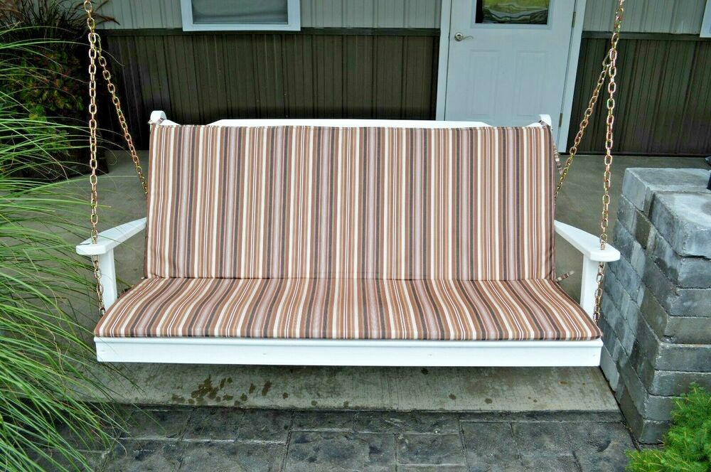 6 Ft Bench Swing And Glider Full Cushion Sundown Agora