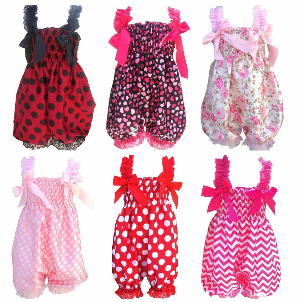 Toddler Baby Girl Rompers Dress One-Piece Tutu Lace ...