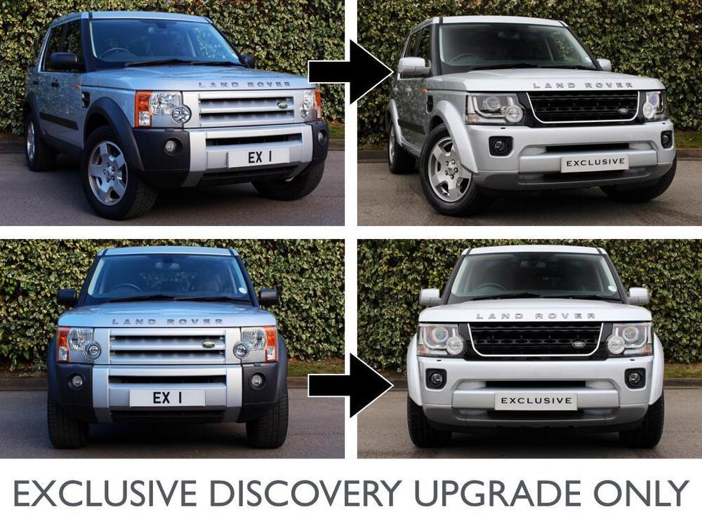 land rover discovery 3 to discovery 4 2016 specification upgrade only ebay. Black Bedroom Furniture Sets. Home Design Ideas