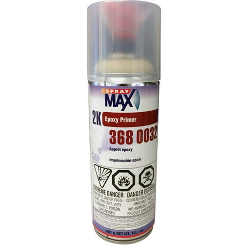 spraymax 2k epoxy rust cure primer 3680032 ebay. Black Bedroom Furniture Sets. Home Design Ideas