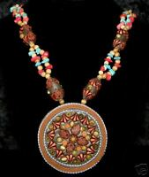 BOHO BOHEMIAN Hippie TRIBAL Belly Dance Dancing Ethnic Beaded Necklace Jewelry