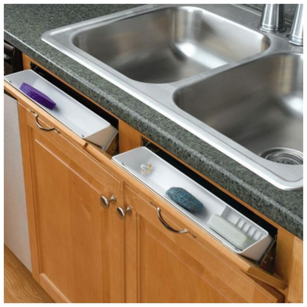 Rev A Shelf Kitchen Sink Front Tray Tip Out Hinges Cabinet