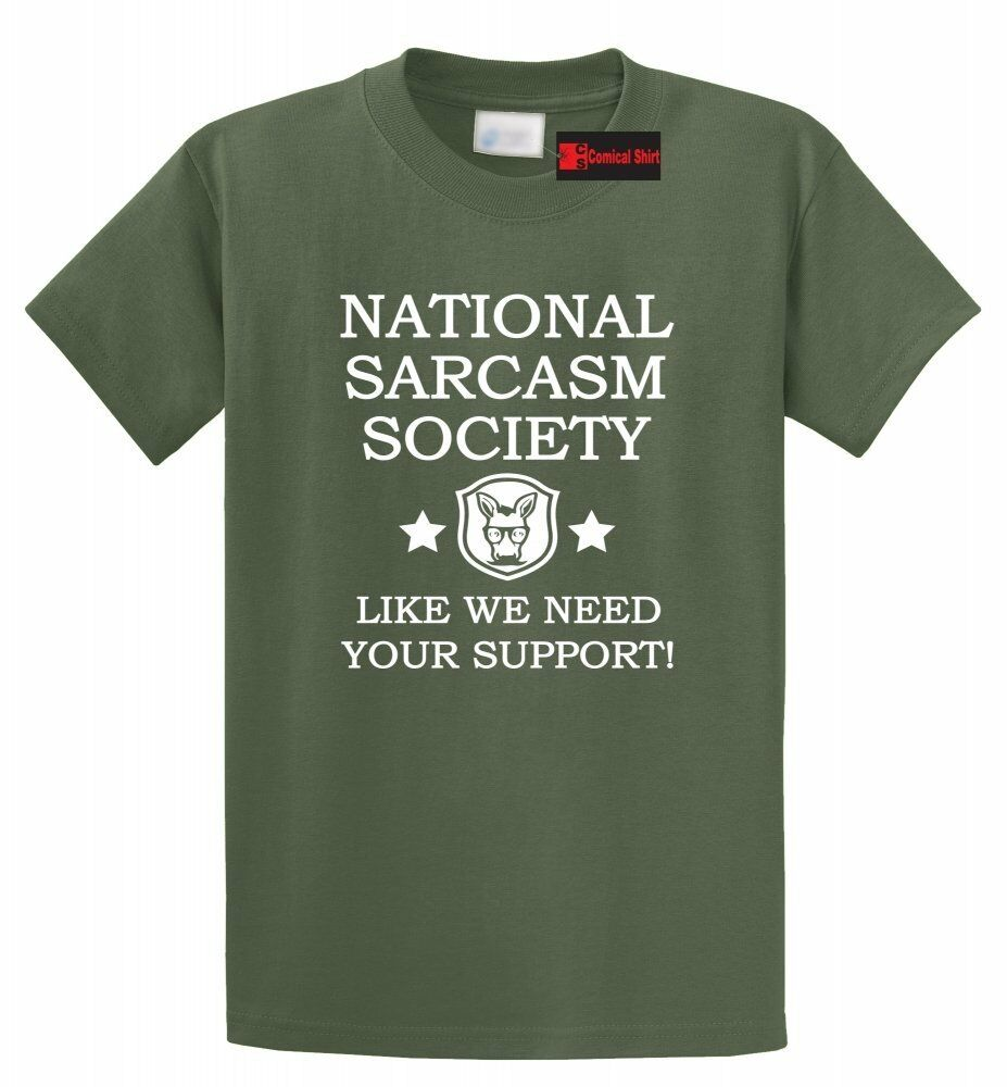 National Pi Day Quotes: National Sarcasm Society Funny T Shirt Cute Sarcastic