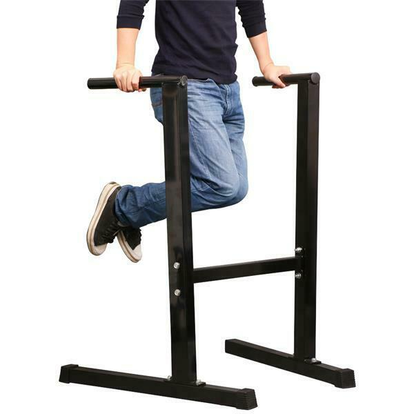 Dips Replacement Exercise: Heavy Duty Dip Station Stand Home Gym Trainer Parallel Bar