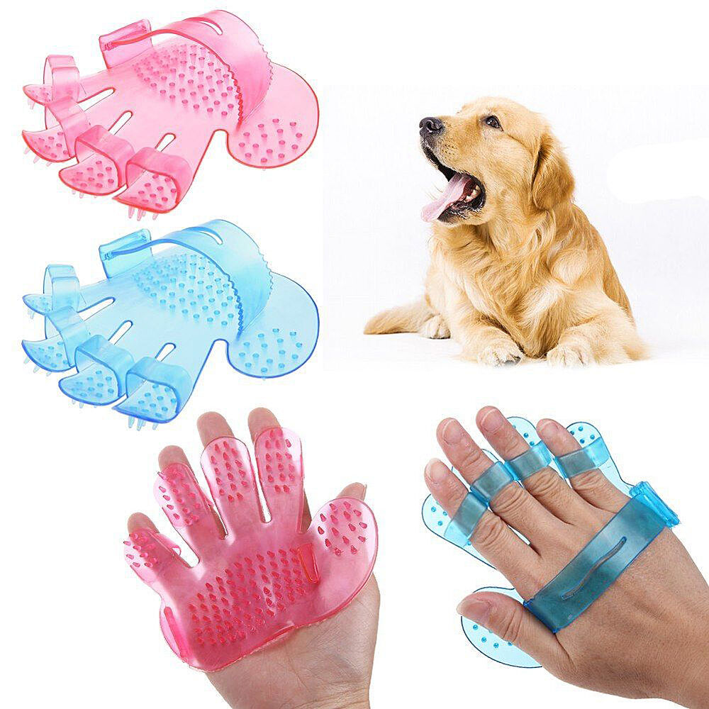 Glove For Your Pet Fun Cat Dog Pet Cleaning Grooming Glove