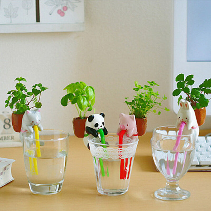 Self Watering Animal Planter Water Absorption Cute Pot