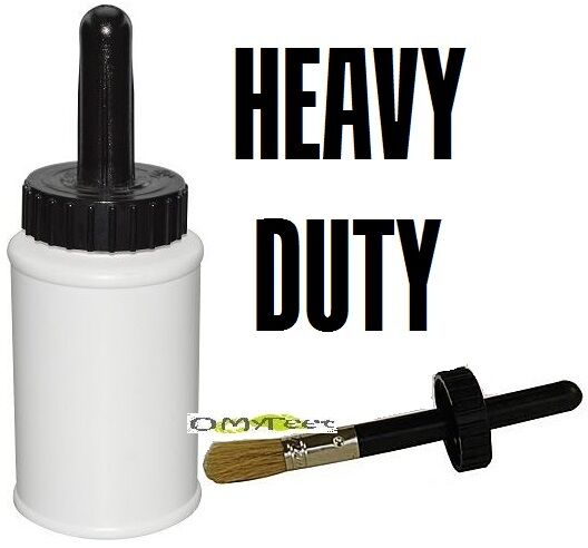 8oz Hd Dispenser With Brush Applicator For Barge Rubber
