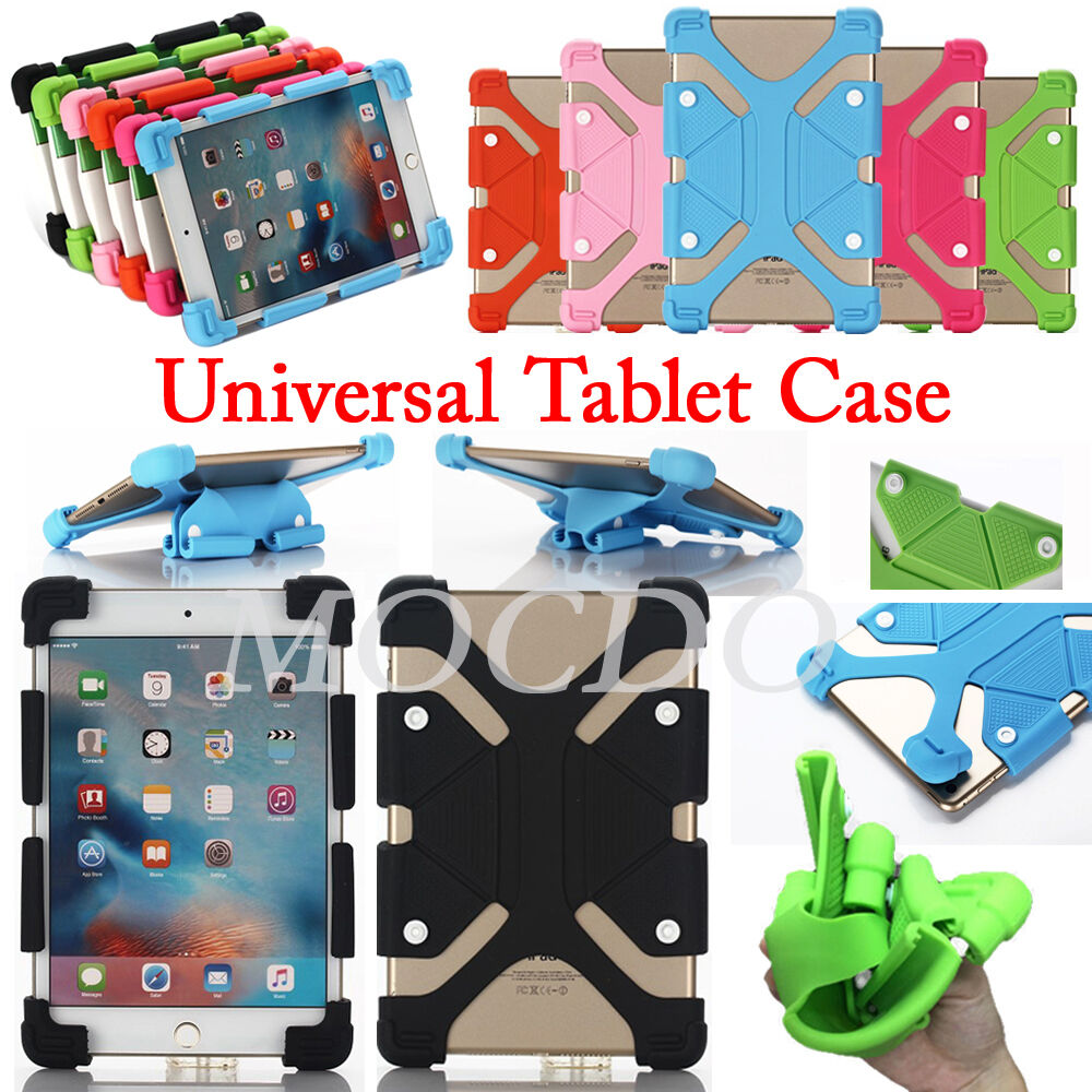 Soft Silicone Flexible Shockproof Stand Cover Case For
