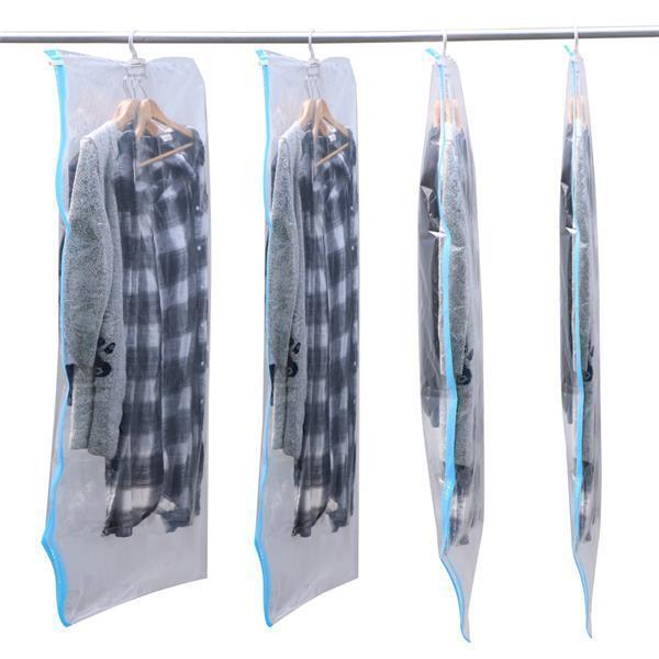 how to pack clothes in a vacuum bag