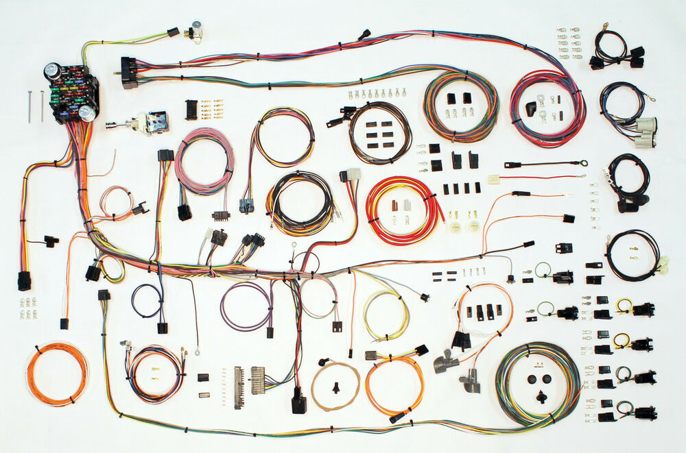 1969 pontiac firebird american autowire wiring harness ebay. Black Bedroom Furniture Sets. Home Design Ideas