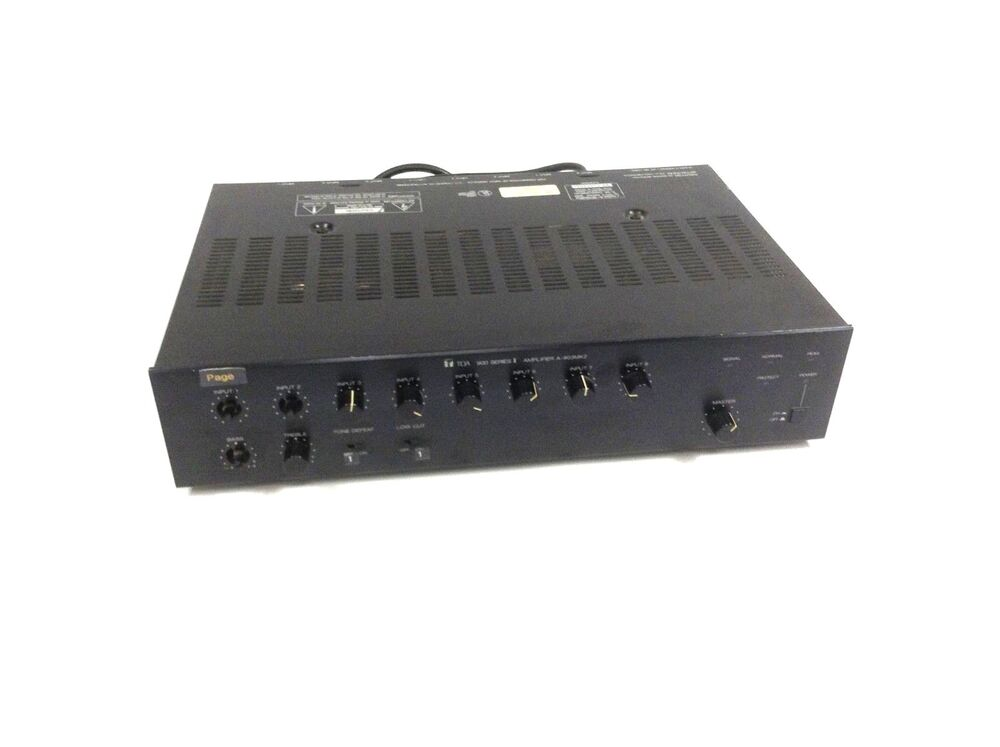 toa 900 series ii power amplifier a 903mk2 mixer powers on 689192499948 ebay. Black Bedroom Furniture Sets. Home Design Ideas