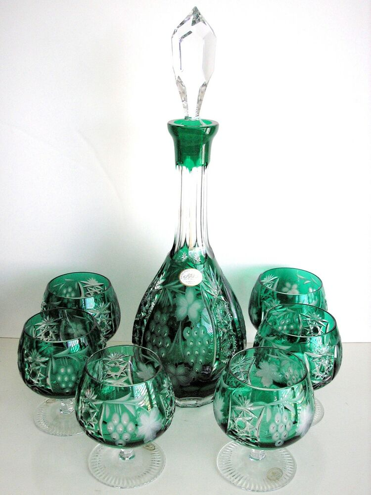 how to clean crystal decanter
