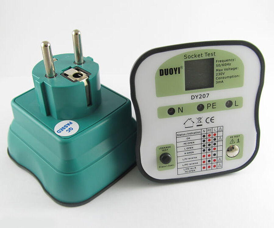 Electrical Socket Tester : V eu europe version duoyi dy electrical