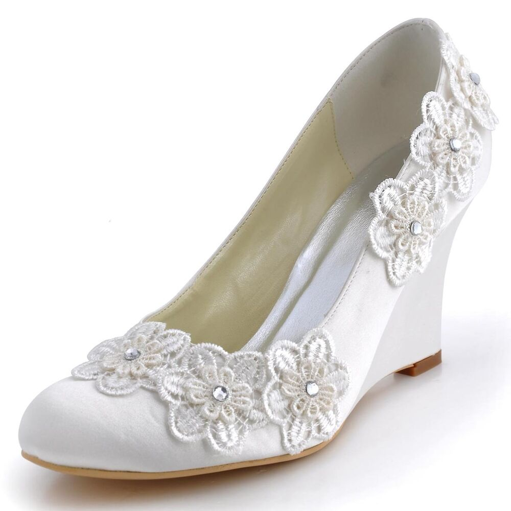 Silver Closed Toe Evening Shoes