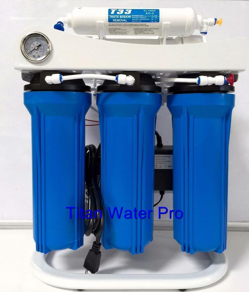 Reverse Osmosis Water Filtration System Booster Pump