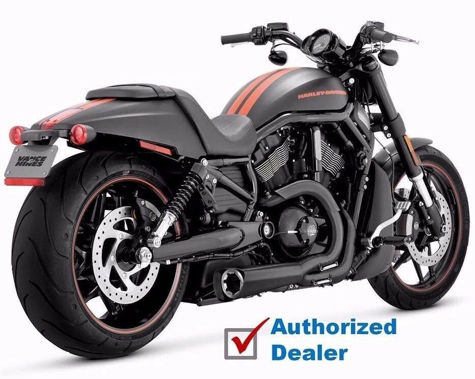 Vance & Hines Indy Competition Series 2-Into-1 Exhaust