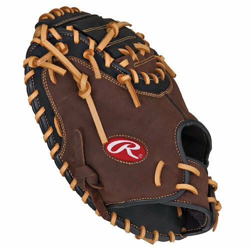 "Rawlings RCM30SB 33"" baseball catchers mitt LHT catcher's ..."