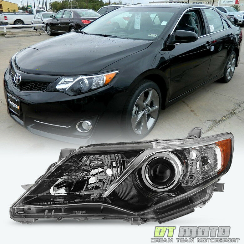 2012 2013 2014 toyota camry se projector headlight. Black Bedroom Furniture Sets. Home Design Ideas