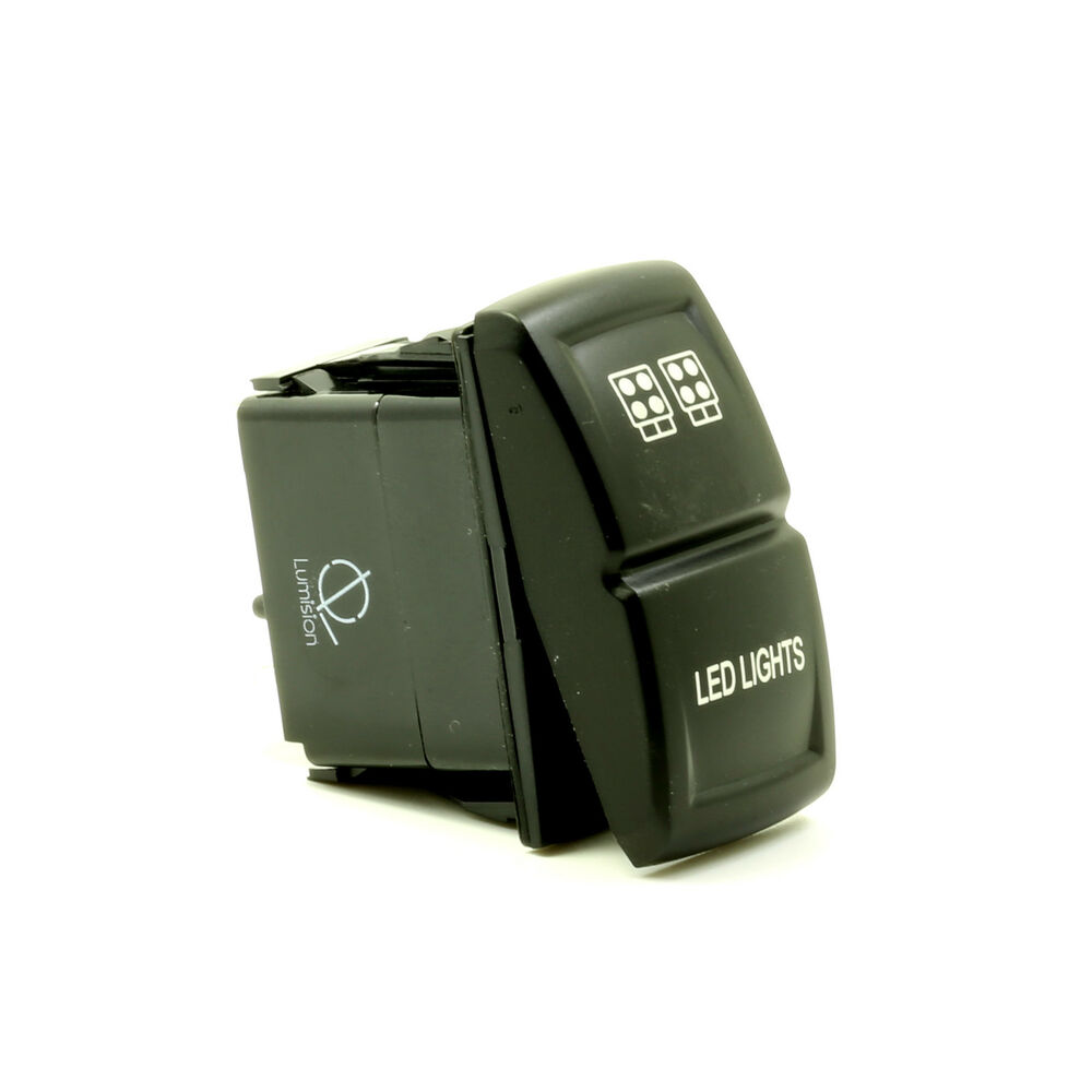 Lumision LED Rocker Switch 4x4 OFF-road laser etched - LED ...