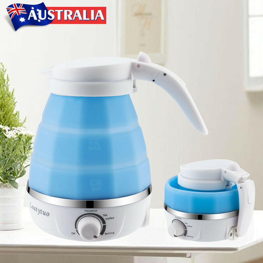 Mini Travel Silicone Foldable Electric Water Kettle