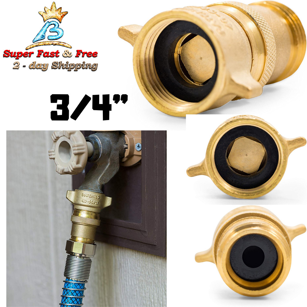 camco brass water pressure regulator rv valve hose adapter fitting camper garden ebay