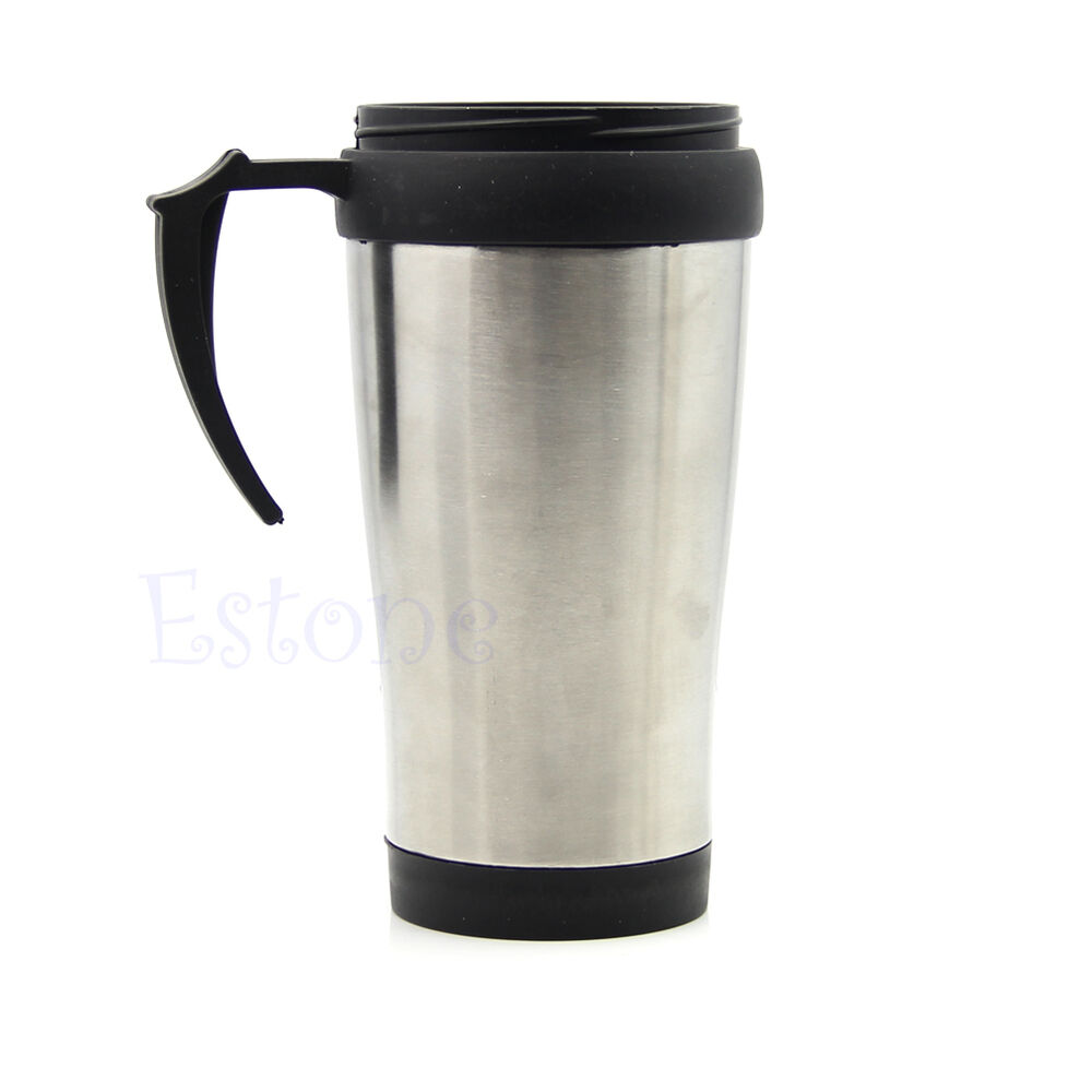 500ml stainless steel travel tea cup coffee thermos. Black Bedroom Furniture Sets. Home Design Ideas