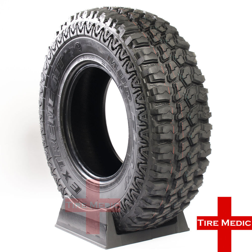 285 75r 75r16 >> 4 NEW MUD CLAW EXTREME M/T TIRES 245/75/16 245/75R16 2457516 LOAD E | eBay