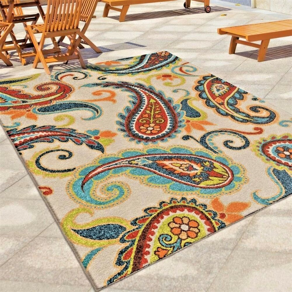 8x10 Indoor Outdoor Area Rugs