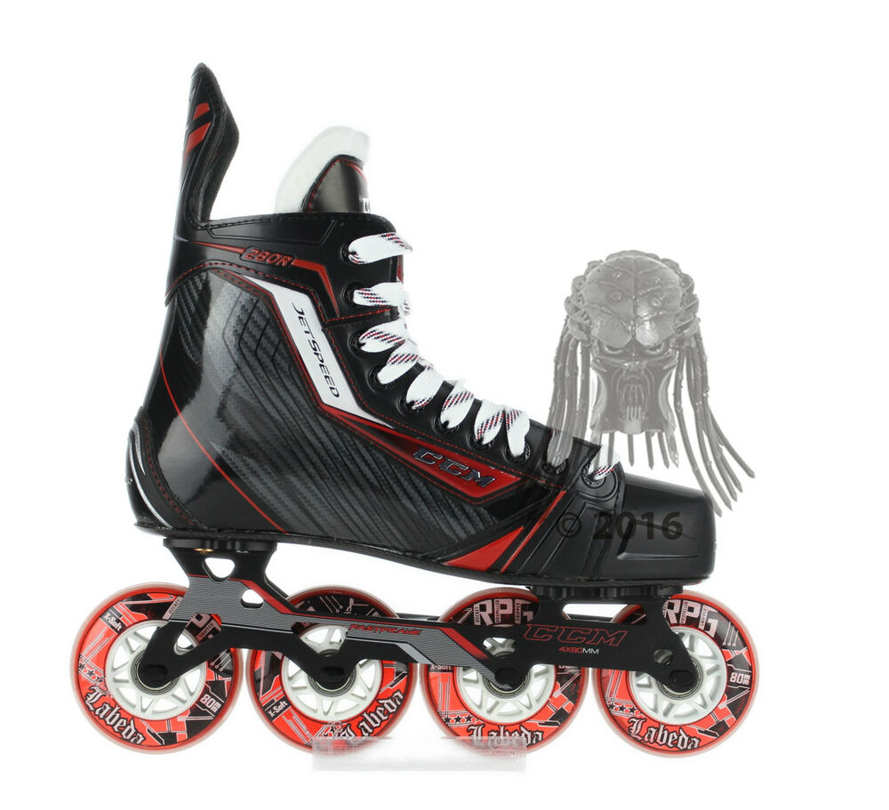 ccm jetspeed 280r inline roller hockey skates senior. Black Bedroom Furniture Sets. Home Design Ideas