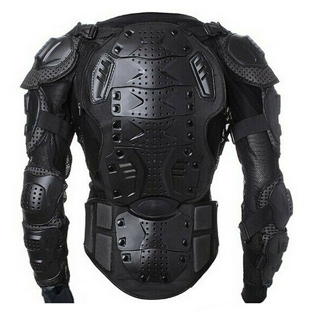 Motorcycle Dirt Bike Mtb Riding Armor Jacket Spine Chest