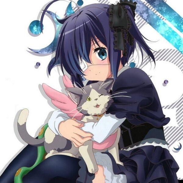 Love Chunibyo & Other Delusions Anime Rikka 40*40CM Square
