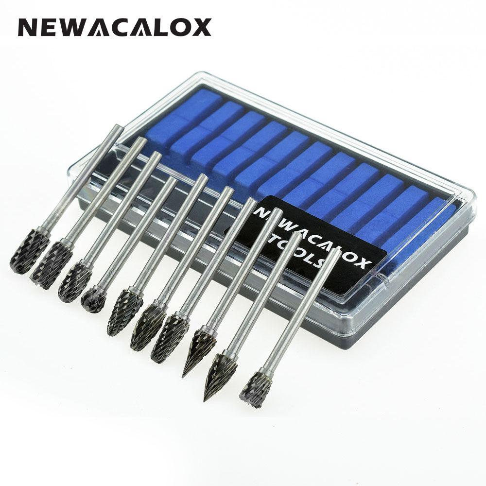 10pcs dremel carbide burrs drill bit set rotary micro drill bits for metal glass ebay. Black Bedroom Furniture Sets. Home Design Ideas
