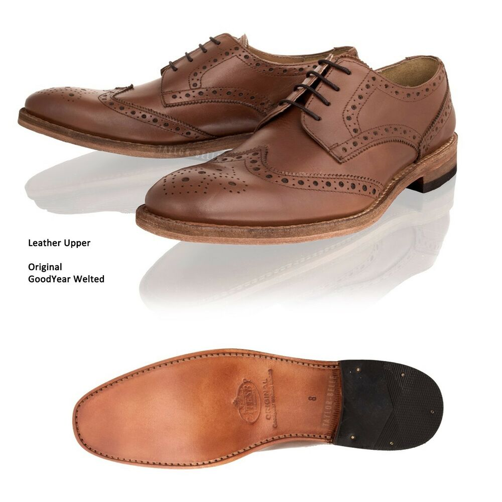 Leather Lace Up Brogue Shoes M S