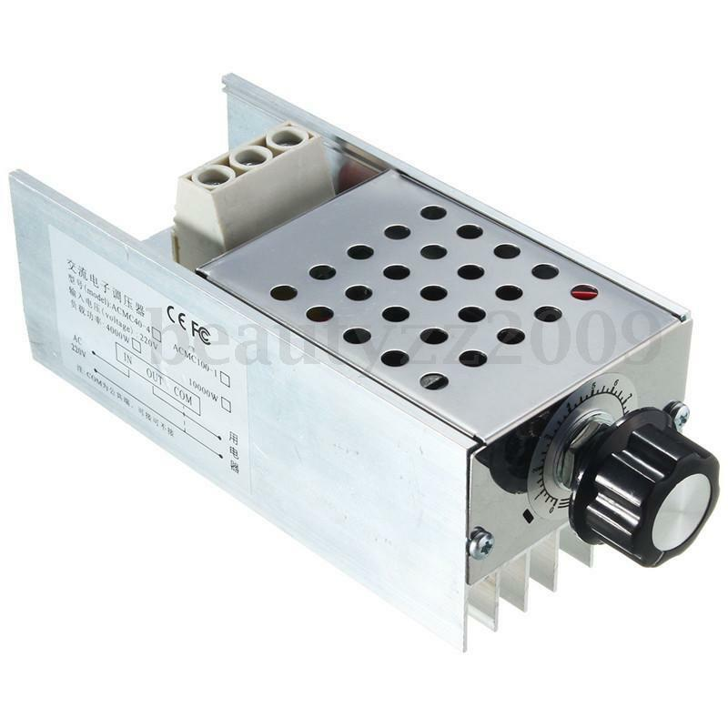 10000w 220v scr voltage regulator speed controller dimmer for 240v motor speed controller