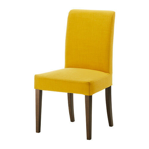 ikea henriksdal chair cover skiftebo yellow new ebay. Black Bedroom Furniture Sets. Home Design Ideas