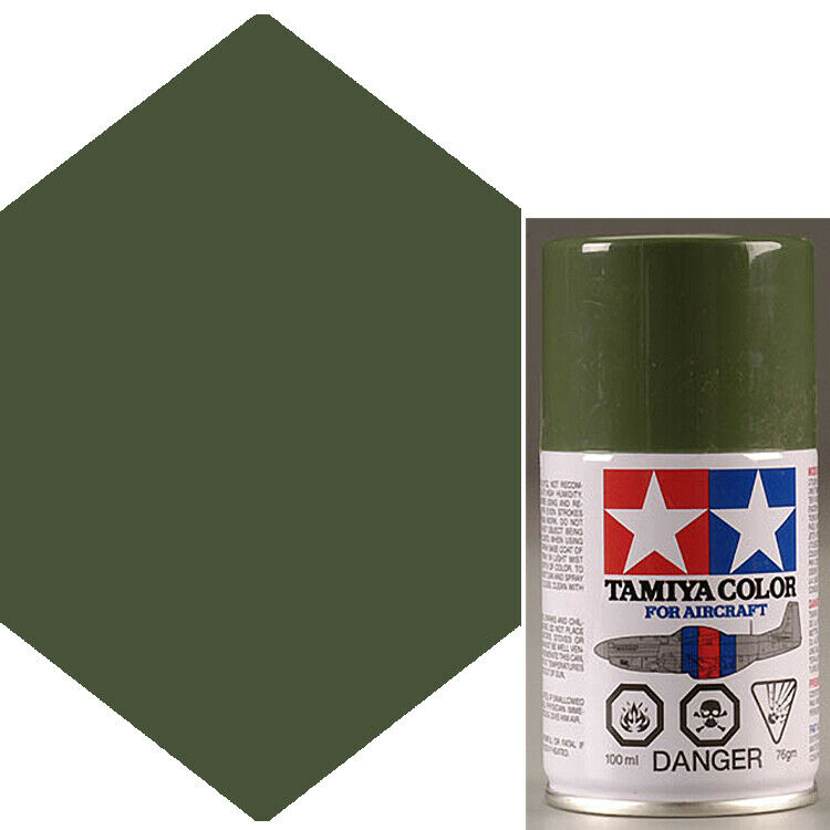 Tamiya AS 9 Dark Green RAF Aircraft Lacquer Spray Paint 3 Oz | EBay