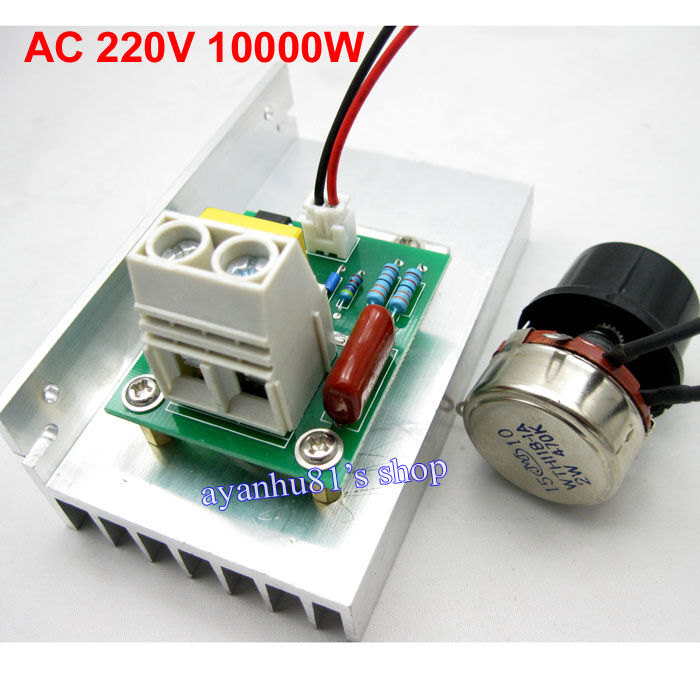 Ac 220v 10000w scr motor speed controller voltage for Ac speed control motor