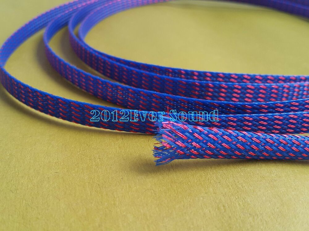Pet Amp Copper Expandable Braided Sleeve Wire Cable Loom