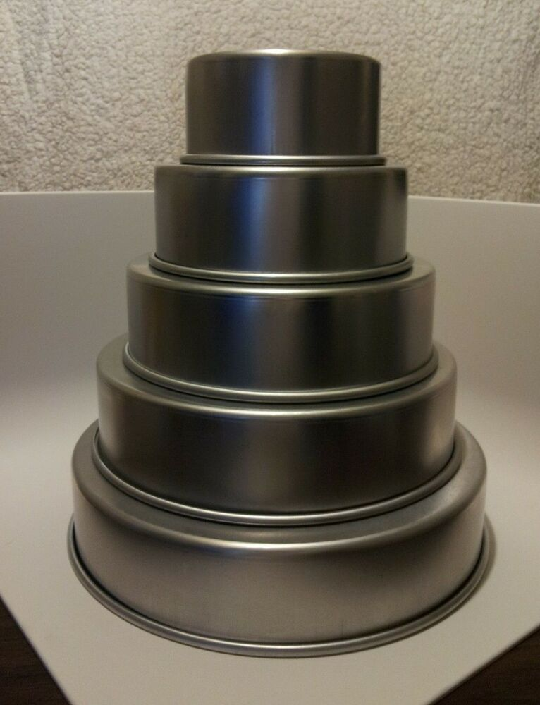 wedding cake baking pans parrish magic line 3 quot wedding cake pan set of 5 6 21974