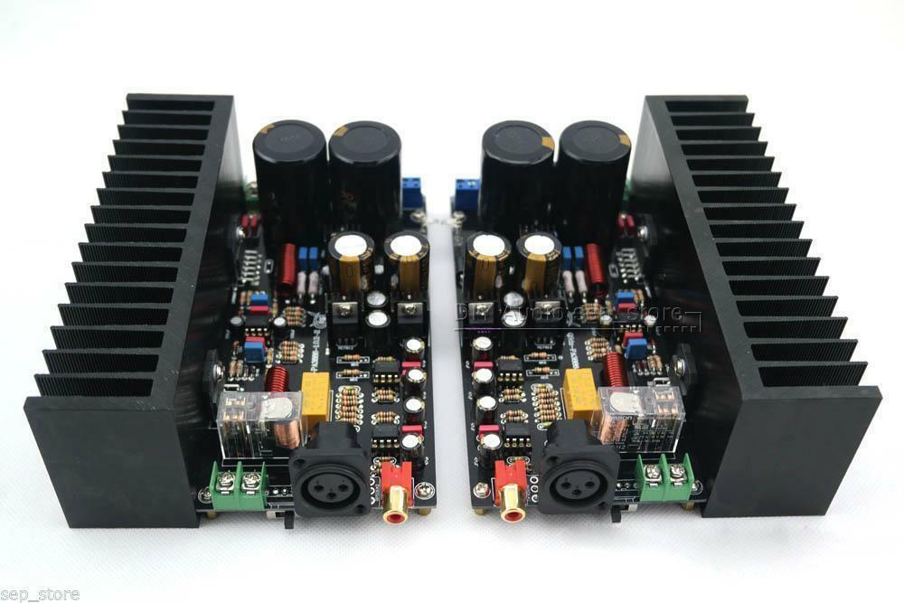 120w btl 1 0 full balanced lm3886 mono power amplifier amp no heatsink hl 117 ebay. Black Bedroom Furniture Sets. Home Design Ideas
