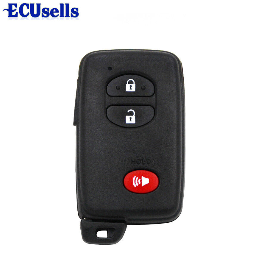 Smart Car Key Replacement >> New Smart Remote Key Shell Case 2+1 Button for TOYOTA 4Runner Land cruiser Prius | eBay