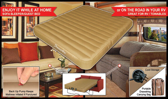 Replace That Old Rv Or Truck Mattress W Foreveraire Air