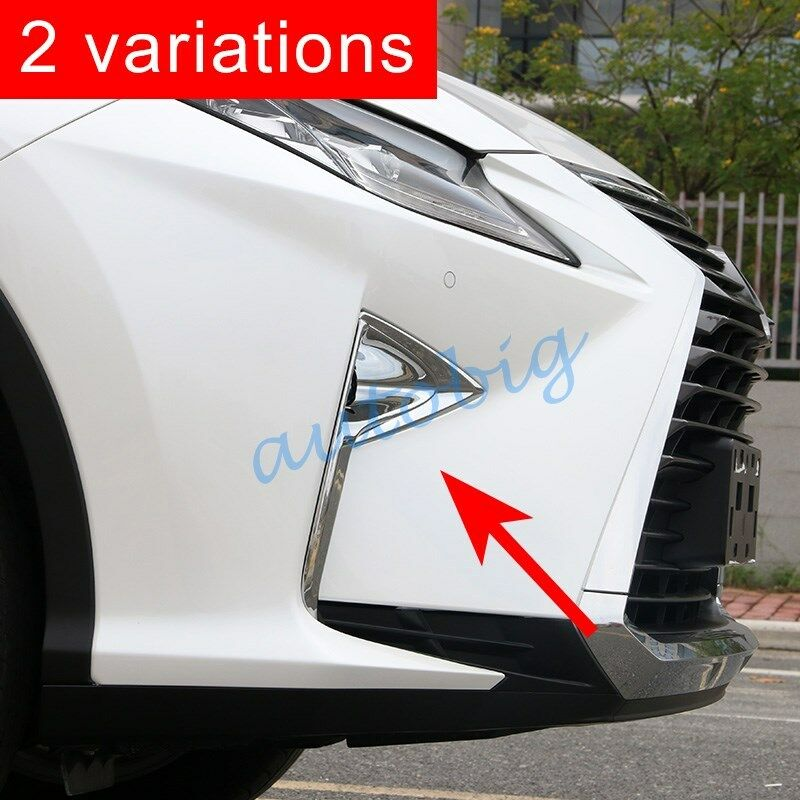 Chrome Front Fog Light Cover Trim For Lexus Rx 350 450