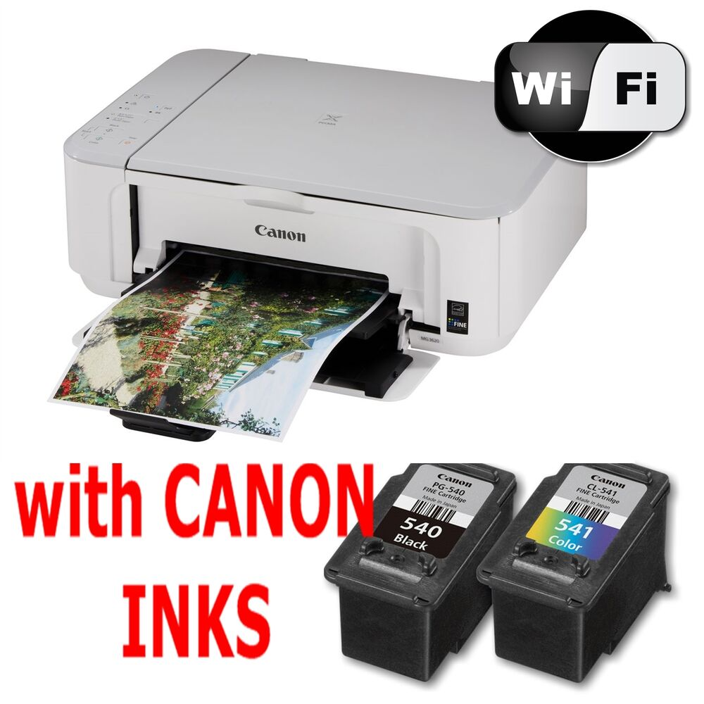 canon pixma mg3650 all in one wireless printer scanner copier inks ebay. Black Bedroom Furniture Sets. Home Design Ideas