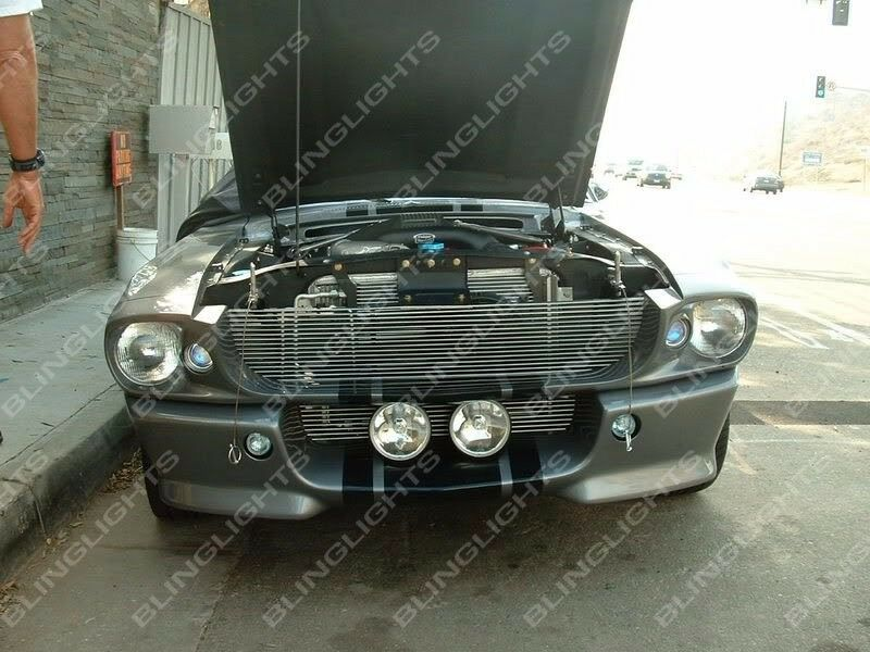 Ford mustang eleanor shelby gt 500 fastback large grille for Ebay motors mustang gt