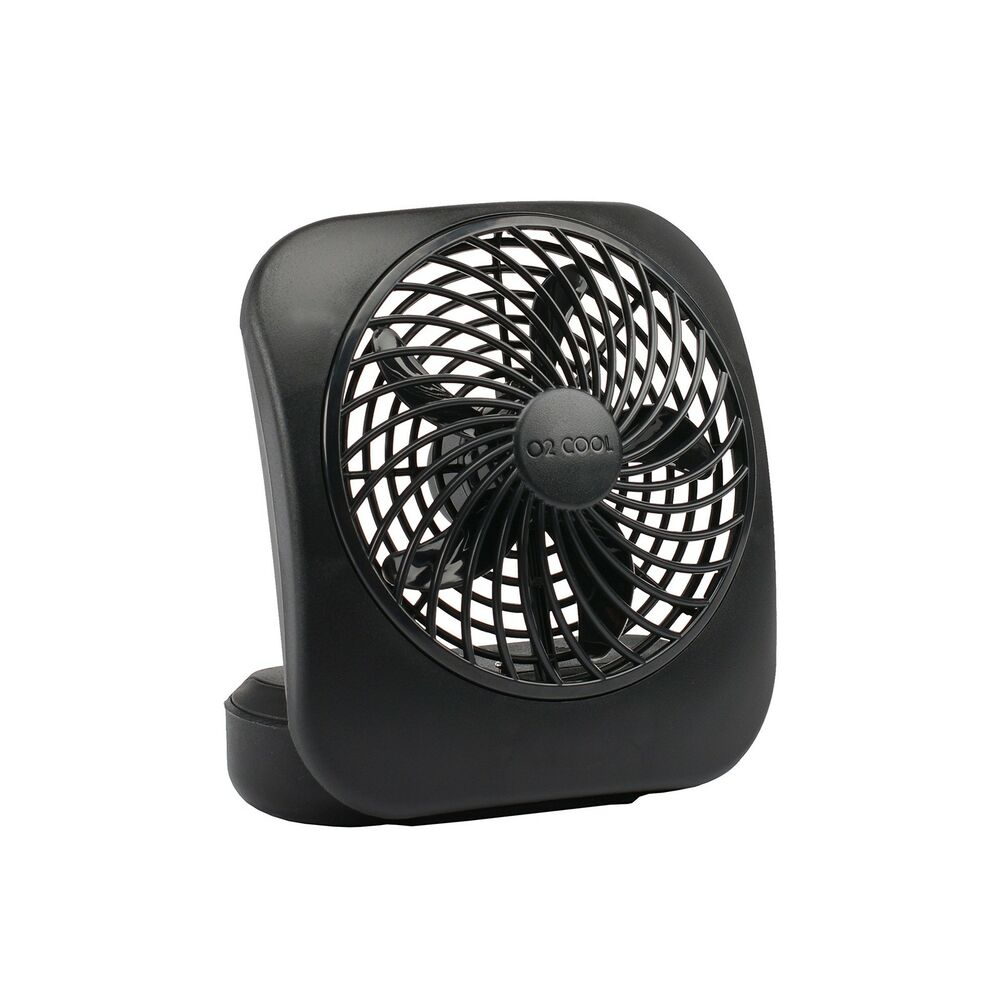 02 Cool Battery Operated Fan : Portable battery operated home office cool compact
