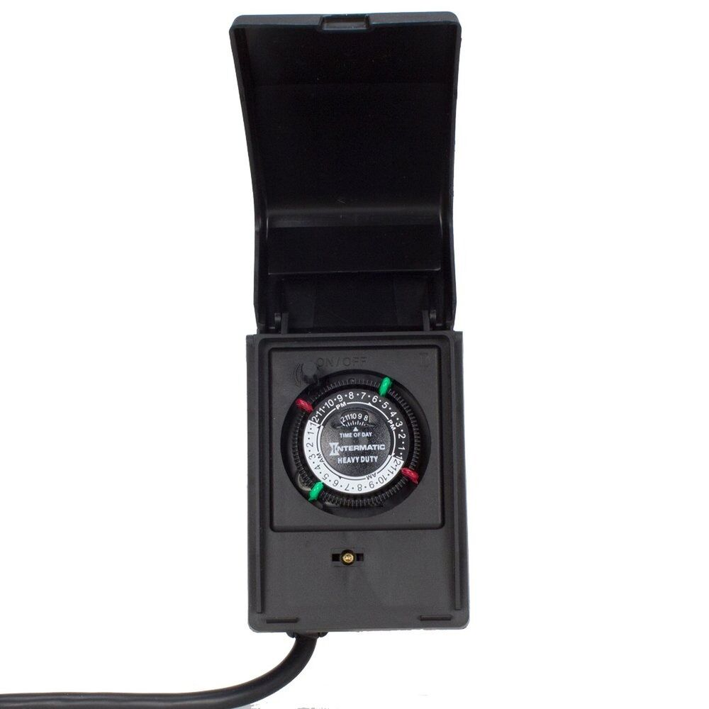 Pool Pump Timer Controller Heavy Duty Above Ground 15amps On Off Switch Lighting 689993097749 Ebay