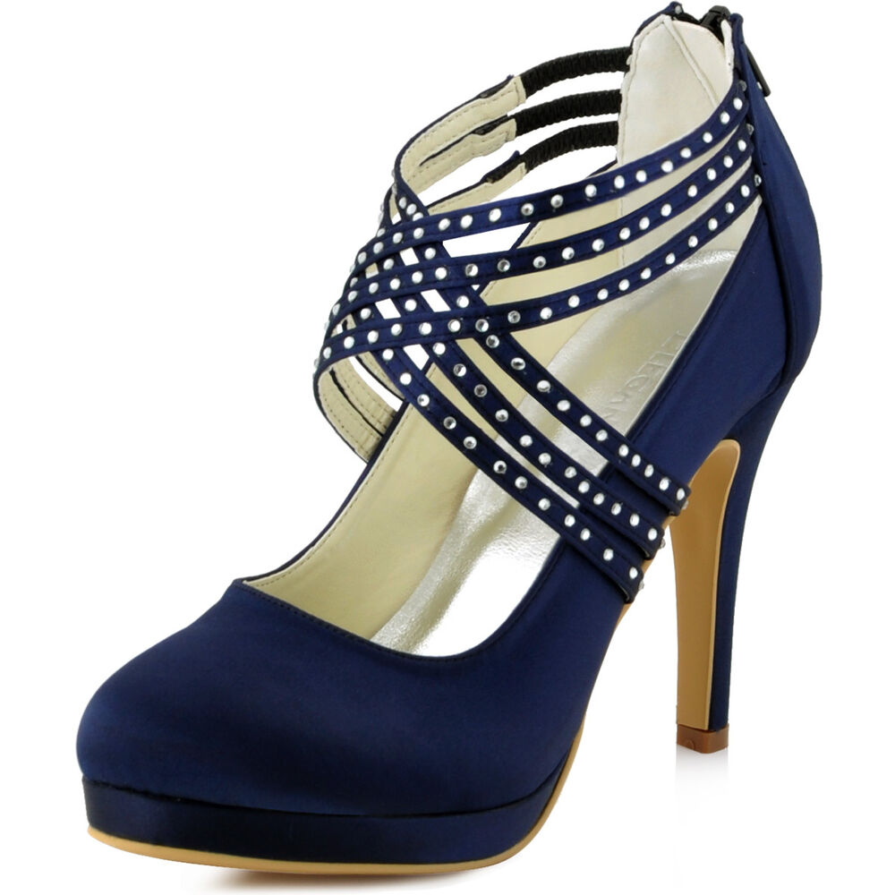 Navy Occasion Shoes Uk