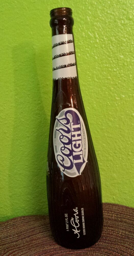 VTG LIMITED EDITION COORS LIGHT BASEBALL BAT BEER BOTTLE ...