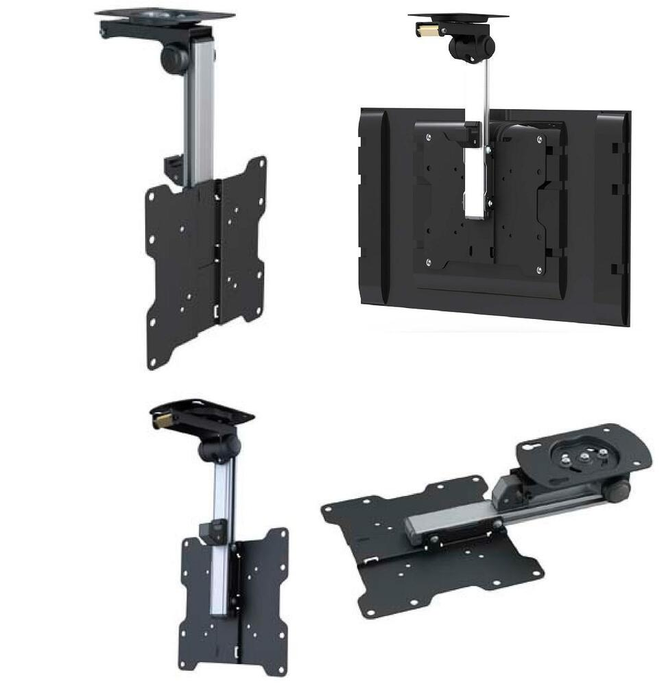 FOLDING CEILING TV MOUNT BRACKET LCD LED 21 22 24 27 28 32